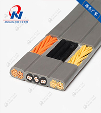TVVB电动自动伸缩门扁平电缆