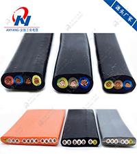 TVVBG扁平聚氯乙烯护套加强钢绳电梯电缆
