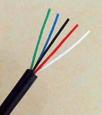 FEP铁氟龙绝缘耐高温多芯线缆